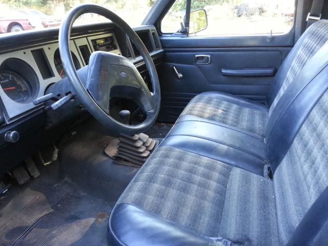 ford ranger standard cab pickup 1986 black for sale 00000000000000000 1986 ford ranger rare. Black Bedroom Furniture Sets. Home Design Ideas