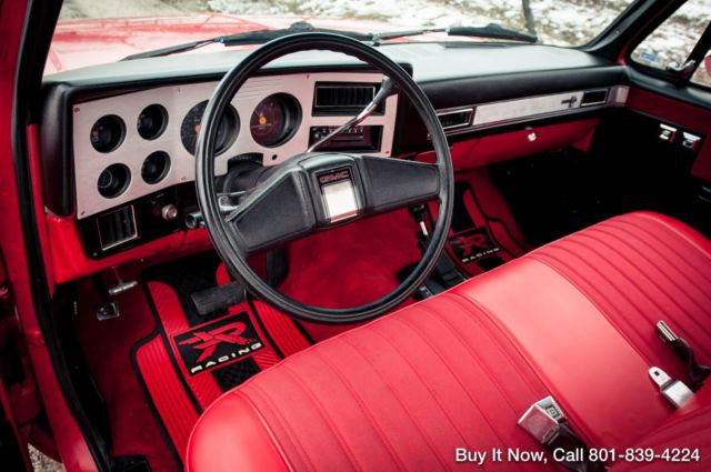 Gmc Sierra 1500 Standard Cab Pickup 1986 Red For Sale