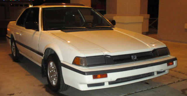 honda prelude coupe 1986 white for sale jhmbb5234gc040337. Black Bedroom Furniture Sets. Home Design Ideas