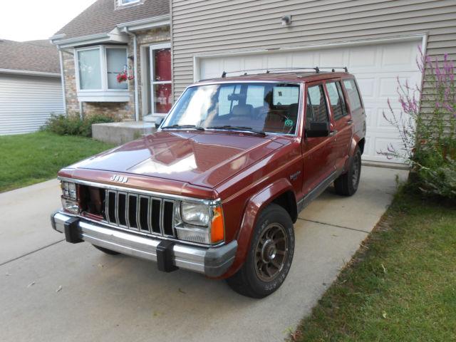 1986 jeep laredo for sale