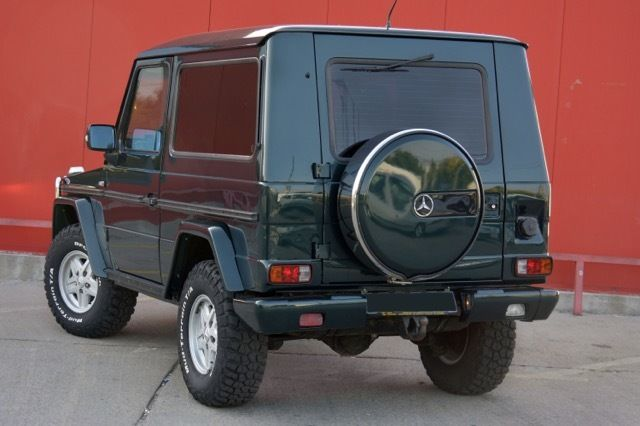 Mercedes benz g class suv 1986 green for sale for Mercedes benz g class suv for sale