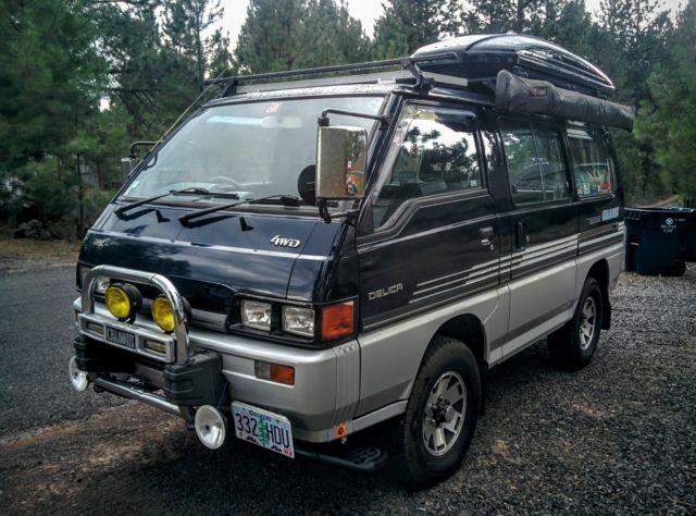 Camper Conversion Van For Sale 1986 Mitsubishi Other