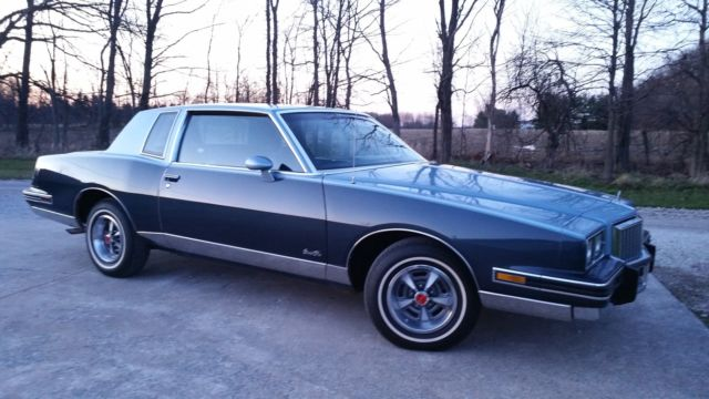Pontiac Grand Prix Coupe 1986 Blue For Sale