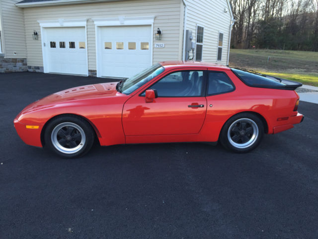 Porsche 944 Hatchback 1986 Red For Sale Wp0aa0951gn152947