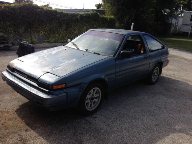 Toyota Corolla Hatchback 1986 Blue For Sale ...