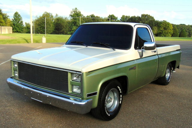 Chevrolet C-10 TRUCK 1986 white pearl mint green For Sale ...