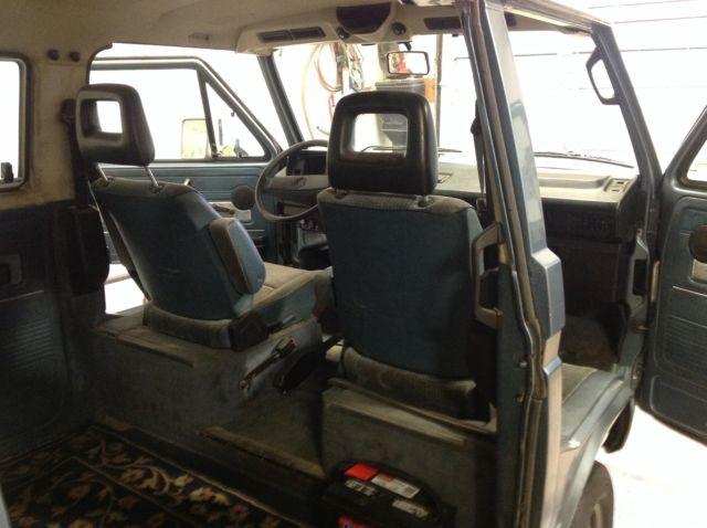 Volkswagen Bus/Vanagon Extended Passenger Van 1986 Blue For Sale