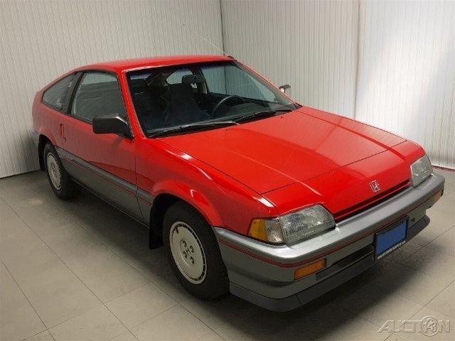 For sale: 1987 Honda CRX 1500 CRX 2-Door Hatchback & Honda CRX Hatchback 1987 Red For Sale. JHMEC1424HS043611 1987 1500 ... Pezcame.Com
