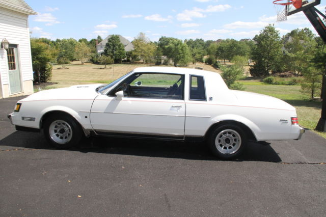 New Buick Grand National >> Buick Regal Coupe 1987 White For Sale. 1G4GM1177HP450893 ...