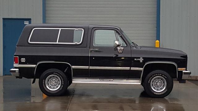 chevrolet blazer suv 1987 black for sale. Black Bedroom Furniture Sets. Home Design Ideas