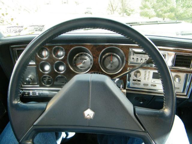 Car Vin Check >> Chrysler Other Sedan 1987 Blue For Sale. 1C3BF66P4HW127183 ...
