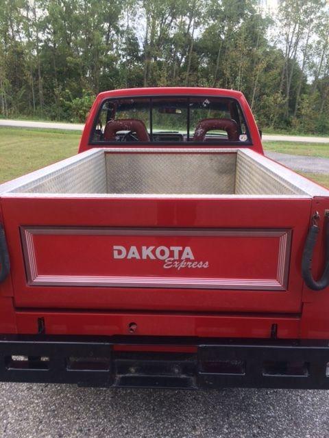 dodge dakota standard cab pickup  red  sale bgnmhs  dodge dakota stepside