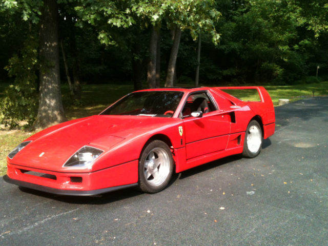 Replicakit Makes Coupe 1987 Red For Sale 1g2pg1194hp208175 1987