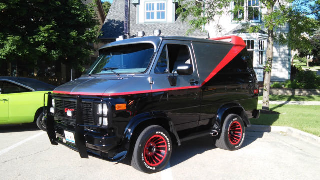 Gmc Vandura 1987 A Team Grahics For Sale