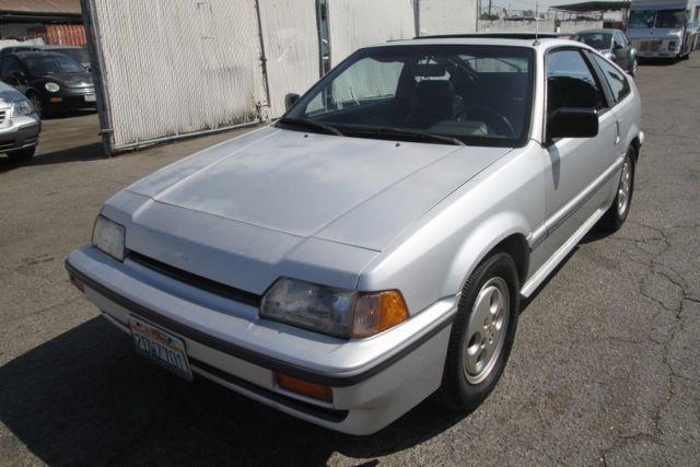 Honda Civic Hatchback 1987 Silver For Sale Jhmec1348hs026300 1987