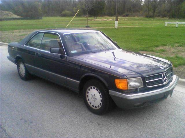 Mercedes-Benz 500-Series Coupe 1987 Navy Blue For Sale