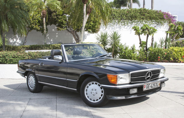 Mercedes benz sl class convertible 1987 gray for sale for 1987 mercedes benz 560sl value