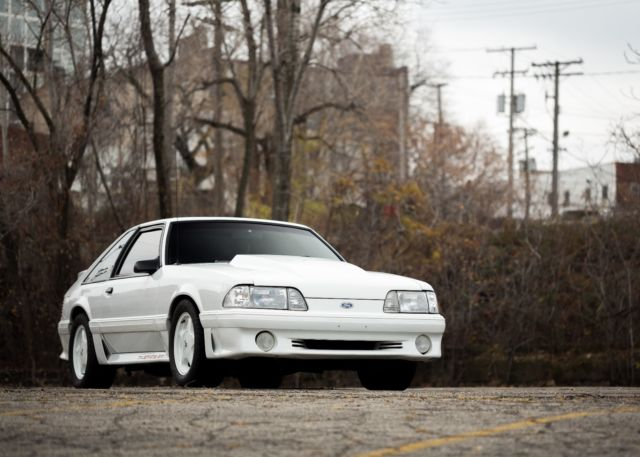 Fox Body For Sale >> Ford Mustang Hatchback 1987 White For Sale. 1FABP42E9HF117837 1987 Mustang GT 5.0 low miles Fox ...