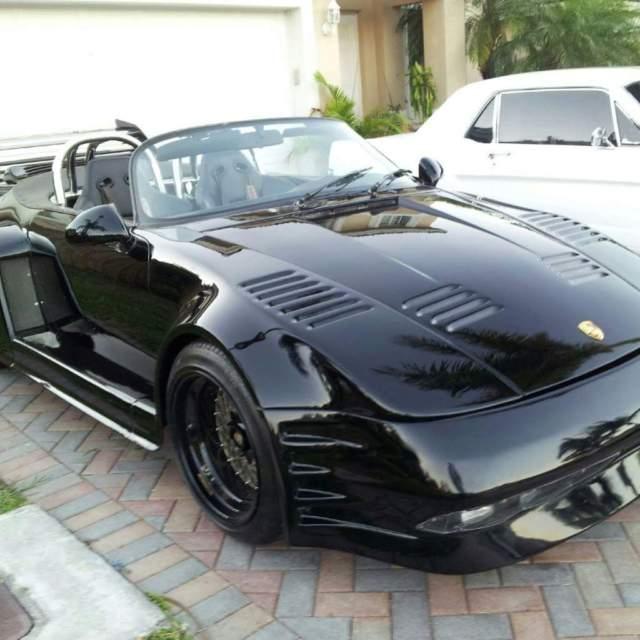 Porsche 911 Convertible 1987 Black For Sale
