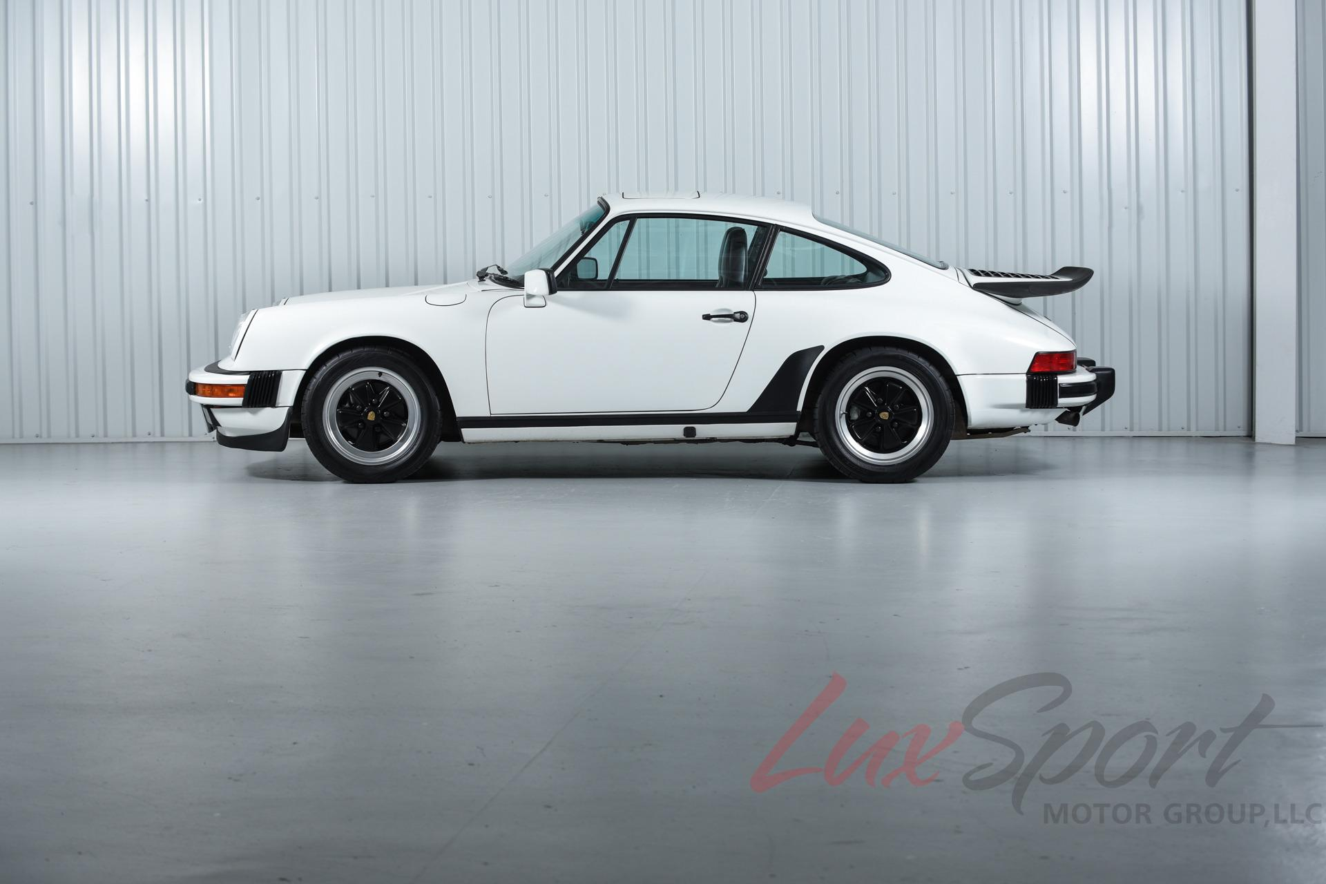 porsche 911 coupe 1987 white for sale wp0ab0914hs120295. Black Bedroom Furniture Sets. Home Design Ideas