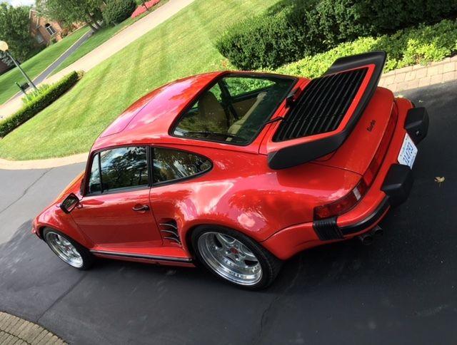 porsche 930 coupe 1987 red for sale wp0jb0939hs051203 1987 porsche 911 turbo coupe factory. Black Bedroom Furniture Sets. Home Design Ideas