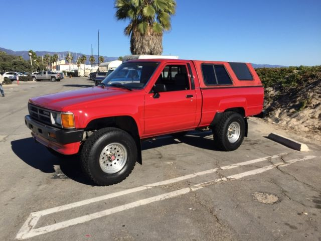Santa Barbara Toyota >> Toyota Other Standard Cab Pickup 1987 Red For Sale. jt4rn63r0h0131673 1987 Toyota Pickup 4x4 1 ...