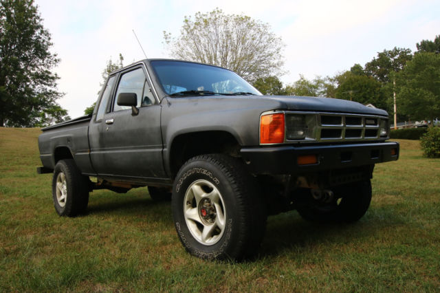 toyota tacoma 1987 black for sale jt4rn67p1h5080955 1987 toyota pickup turbo diesel 5l extended. Black Bedroom Furniture Sets. Home Design Ideas