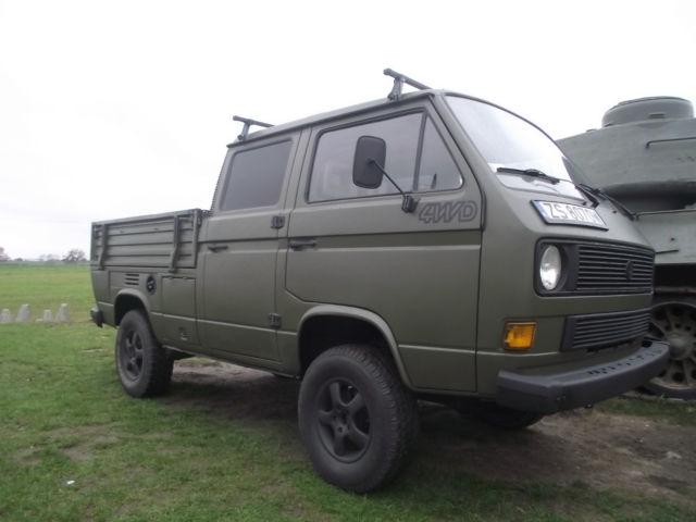 Volkswagen Bus/Vanagon Crew Cab Pickup 1987 Green For Sale