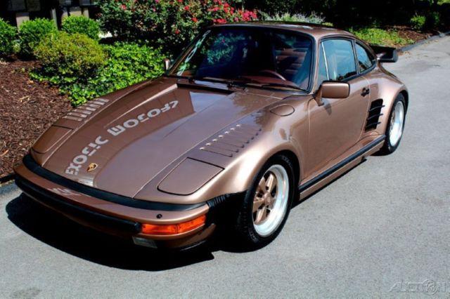 porsche 911 coupe 1988 brown for sale wp0jb0930js050575 1988 911 930 slantnose turbo 505. Black Bedroom Furniture Sets. Home Design Ideas