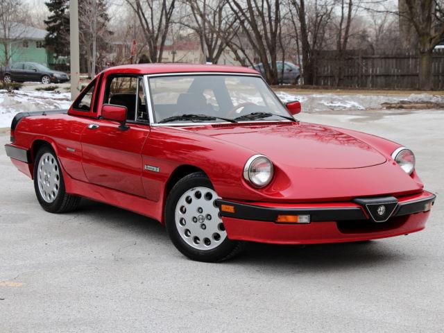 Alfa Romeo Spider Convertible Red For Sale ZARBAJ - Alfa romeo spider accessories