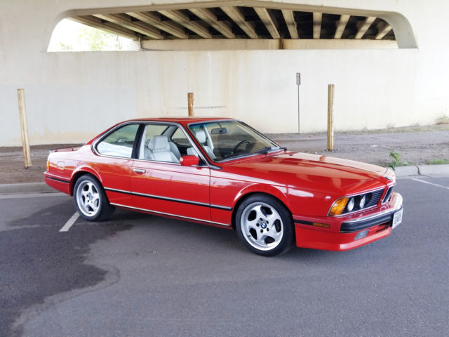 BMW M Coupe Red For Sale WBAEEJ BMW M - 1988 bmw m6 for sale