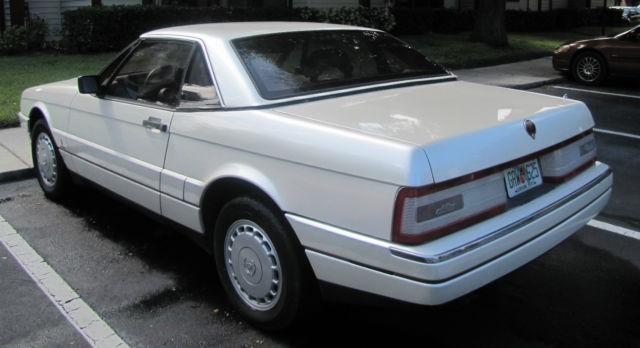 Cadillac Allante Convertible 1988 Pearl White For Sale ...