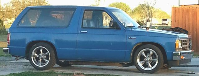 Chevrolet Blazer SUV 1988 Blue For Sale. 1GNCS18RXJ8114727 1988 Chevrolet S10 Blazer 2WD Low ...