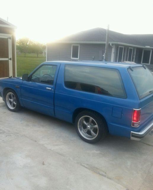 1993 Chevrolet S10 Blazer Interior: Chevrolet Blazer SUV 1988 Blue For Sale. 1GNCS18RXJ8114727