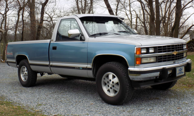Gmc Yukon For Sale By Owner >> Chevrolet Silverado 1500 Standard Cab Pickup 1988 Blue For Sale. 1GCDK14K0JE199813 1988 Chevy ...
