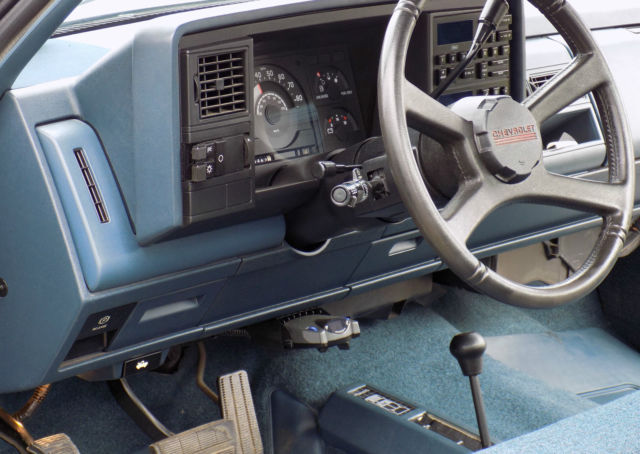 Chevrolet Silverado 1500 Standard Cab Pickup 1988 Blue For