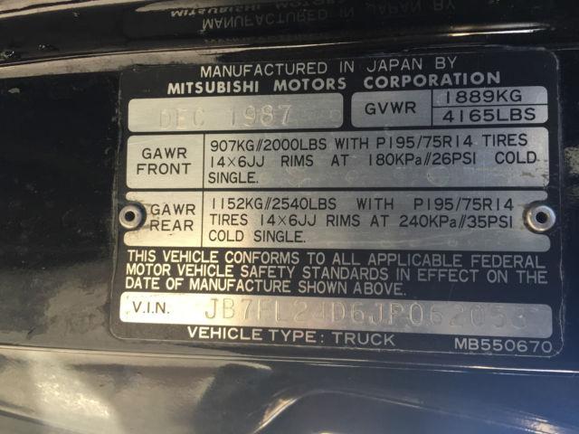Toyota Virginia Beach >> Dodge Other Pickups 1988 black For Sale. jb7fl24d6jp062053 1988 DODGE RAM 50 ...