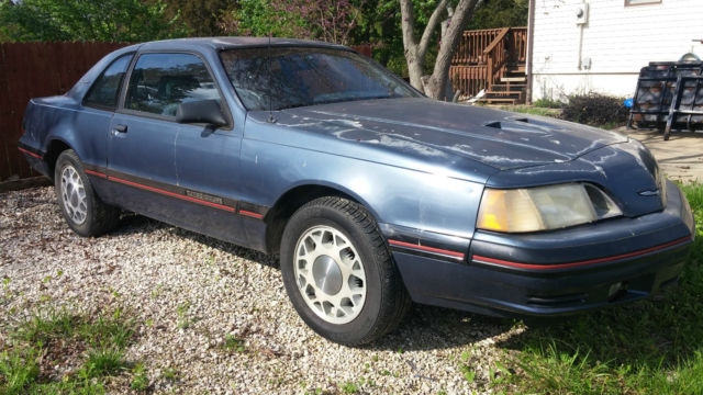 ford thunderbird 1988 for sale 1fabp64t0jh214166 1988 ford thunderbird turbo coupe immaculate. Black Bedroom Furniture Sets. Home Design Ideas