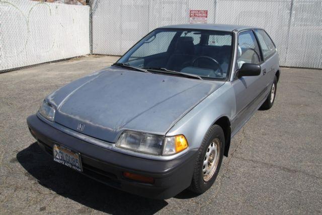 For Sale: 1988 Honda Civic