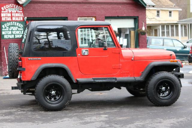 jeep wrangler suv 1988 red for sale 2bccv81j7jb536725 1988 jeep rh findclassicars com 1988 jeep wrangler manual shifter boot 1988 jeep wrangler owners manual pdf