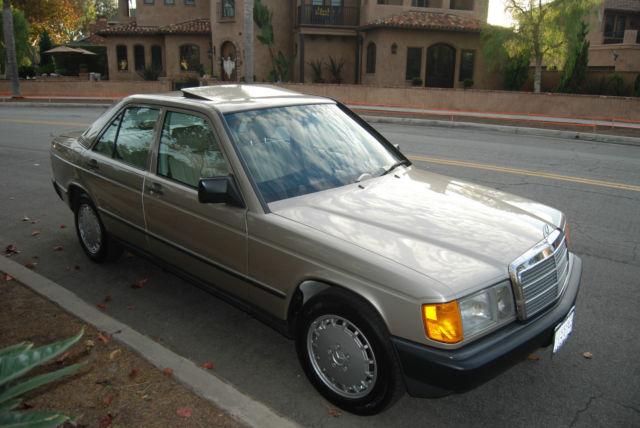 Mercedes benz 190 series sedan 1988 smoke silver metallic for Caliber motors anaheim hills