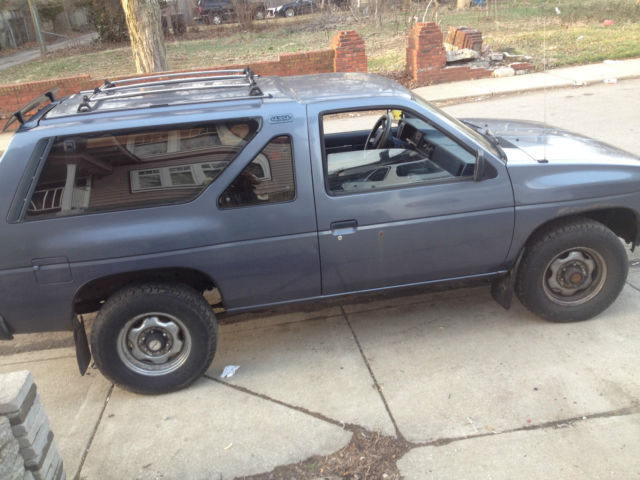 Cars For Sale Indianapolis >> Nissan Pathfinder SUV 1988 Blue For Sale. JN8HD16Y8HW005261 1988 Nissan Pathfinder SE Sport ...