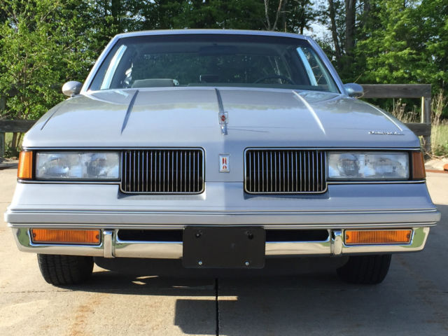 Oldsmobile Cutlass Coupe 1988 Silver For Sale 1G3GR11YXJP304332 Supreme Classic RWD LOW RESERVE CAR WILL SELL