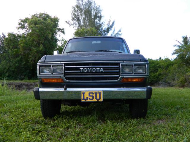 Toyota Land Cruiser 1988 Gray For Sale  JT3FJ62G7J0080004