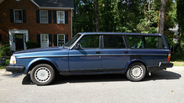 Volvo 240 [xfgiven_type]%xfields_type%[/xfgiven_type] 1988 Blue For