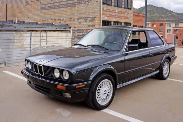 BMW 3Series Coupe 1989 Black For Sale WBAAB0308K8135187 1989 BMW