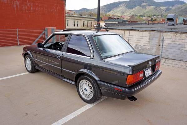 bmw 3 series coupe 1989 black for sale wbaab0308k8135187 1989 bmw 325ix awd coupe 2 door 2 5l. Black Bedroom Furniture Sets. Home Design Ideas