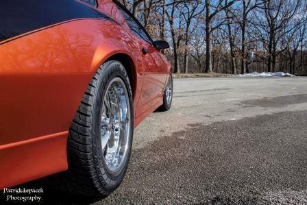 Chevrolet Camaro Coupe 1989 fire mist orange For Sale ...