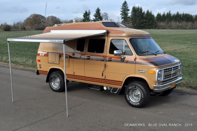 other makes conversion van motorhome 4wd van camper 1989 tan for sale 1gbeg25k1k7113526 1989. Black Bedroom Furniture Sets. Home Design Ideas