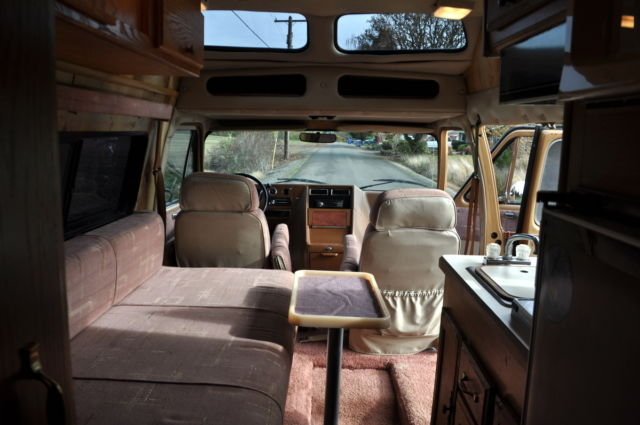 Other Makes Conversion Van Motorhome 4wd Van Camper 1989